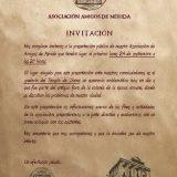 Invitación Asamblea Inaugural Amigos de Mérida