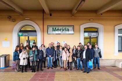 Hermanamiento con Amigos de Badajoz